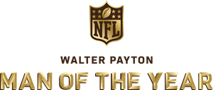 Walter Payton NFL Man of the Year Award Logo Vector