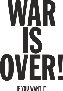 War Is Over Logo Vector
