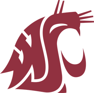 Washington State Cougars Logo Vector