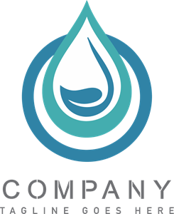 Water Drop Company Logo Vector