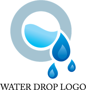 Water Drop Design Logo Vector