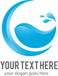 Water Logo Vector