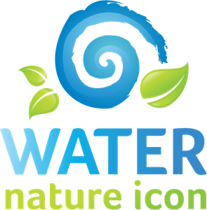 Water Nature Logo Vector