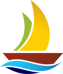 Water Ship Logo Vector