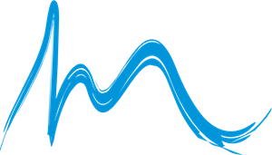 Waves Building Logo Vector