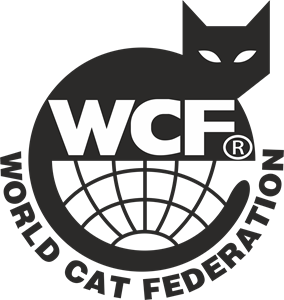 WCF World Cat Federation Logo Vector
