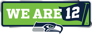 We are 12 of Seahawks Logo Vector