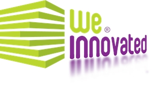 We Innovated Logo Vector