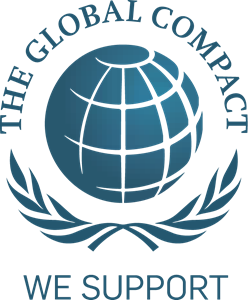 We Support The Global Compact Logo Vector
