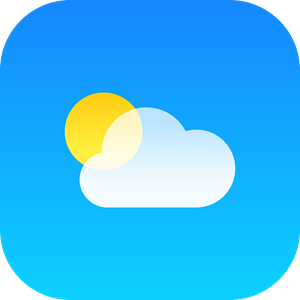 Weather iOS Logo Vector