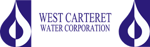 West Carteret Water Corporation Logo Vector