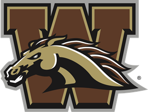 Western Michigan Broncos Logo Vector