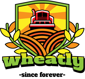 Wheat tractor Logo Vector