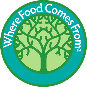 Where Food Comes From Logo Vector
