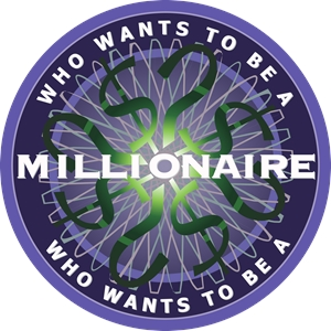 Who Wants to be a Millionaire Logo Vector