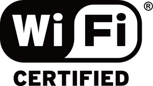 WiFi Certified Logo Vector