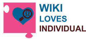 Wiki Loves Individual Logo Vector