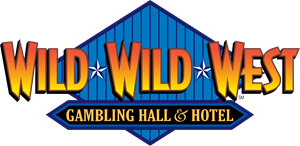 Wild Wild West Gambling Hall & Hotel Logo Vector