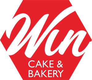 Win Cake & Bakery Logo Vector