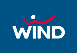 WIND mobile Logo Vector