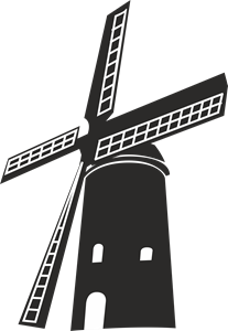 Windmill Logo Vector