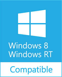 Windows 8/RT Compatible Logo Vector