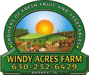 Windy Acres Farm Logo Vector