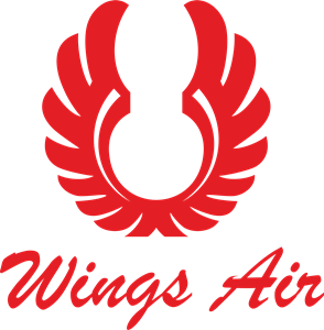Wings airlines Logo Vector