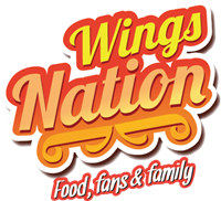 Wings Nation Logo Vector
