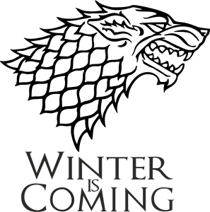 WINTER IS COMING Logo Vector