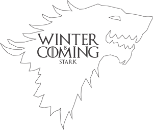 Winter is Coming - Stark Logo Vector
