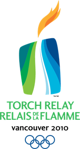 Winter Olympics 2010 torch relay Logo Vector
