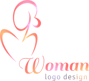 woman elegant Logo Vector