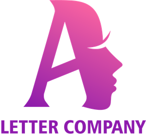 Woman Letter A Company Logo Vector