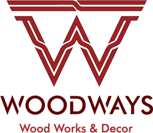 Woodways Wood Works & Decor Logo Vector