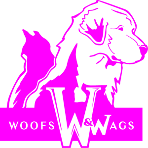Woofs and Wags San Diego Logo Vector
