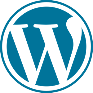 WordPress Icon Logo Vector