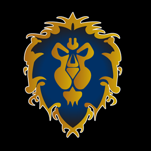 World of Warcraft Alliance Logo Vector