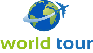 World tour Logo Vector