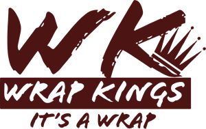 Wrap Kings It's a wrap Logo Vector