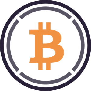 Wrapped Bitcoin (WBTC) Logo Vector