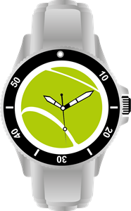 Wristwatch Logo Vector