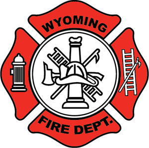 Wyoming Fire Dept Logo Vector