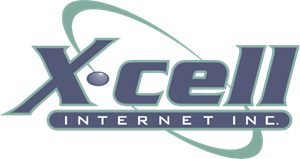 X-cell Internet Logo Vector