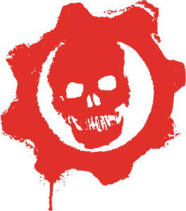 Xbox 360 Gears Of War Logo Vector