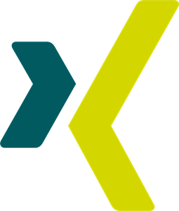 Xing Icon Logo Vector