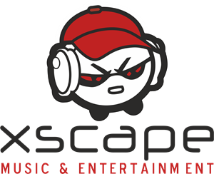 Xscape Music and Entertainment Logo Vector