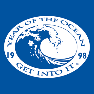 Year of the Ocean Logo Vector
