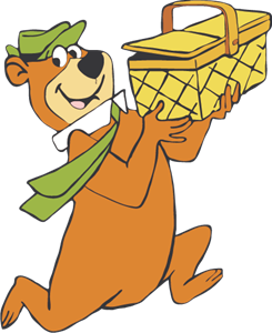 Yogi Bear Logo Vector