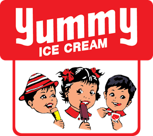 Yummy Ice Cream Logo Vector